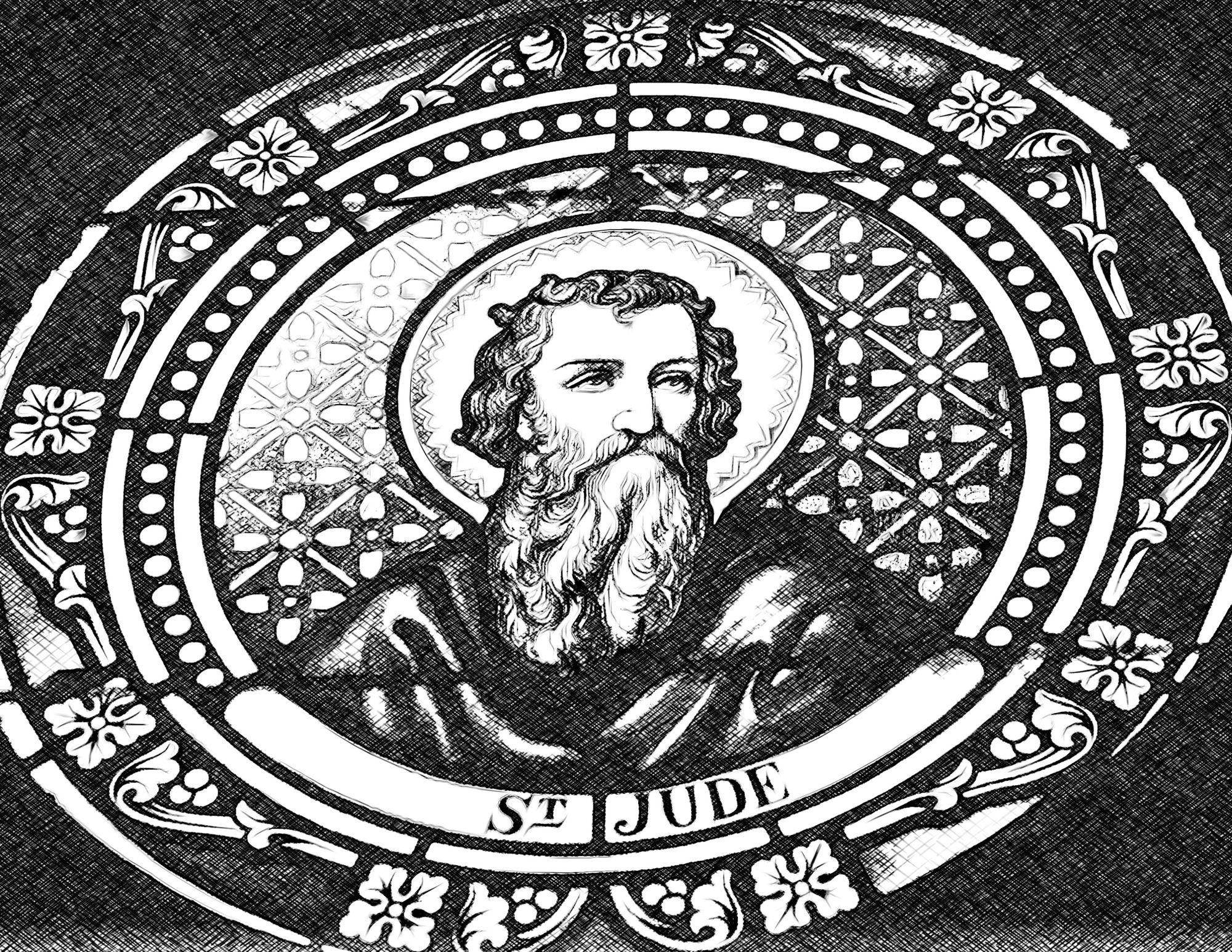 Saint-Jude-Catholic-Coloring-Page-from-sdcason-dot-com-x