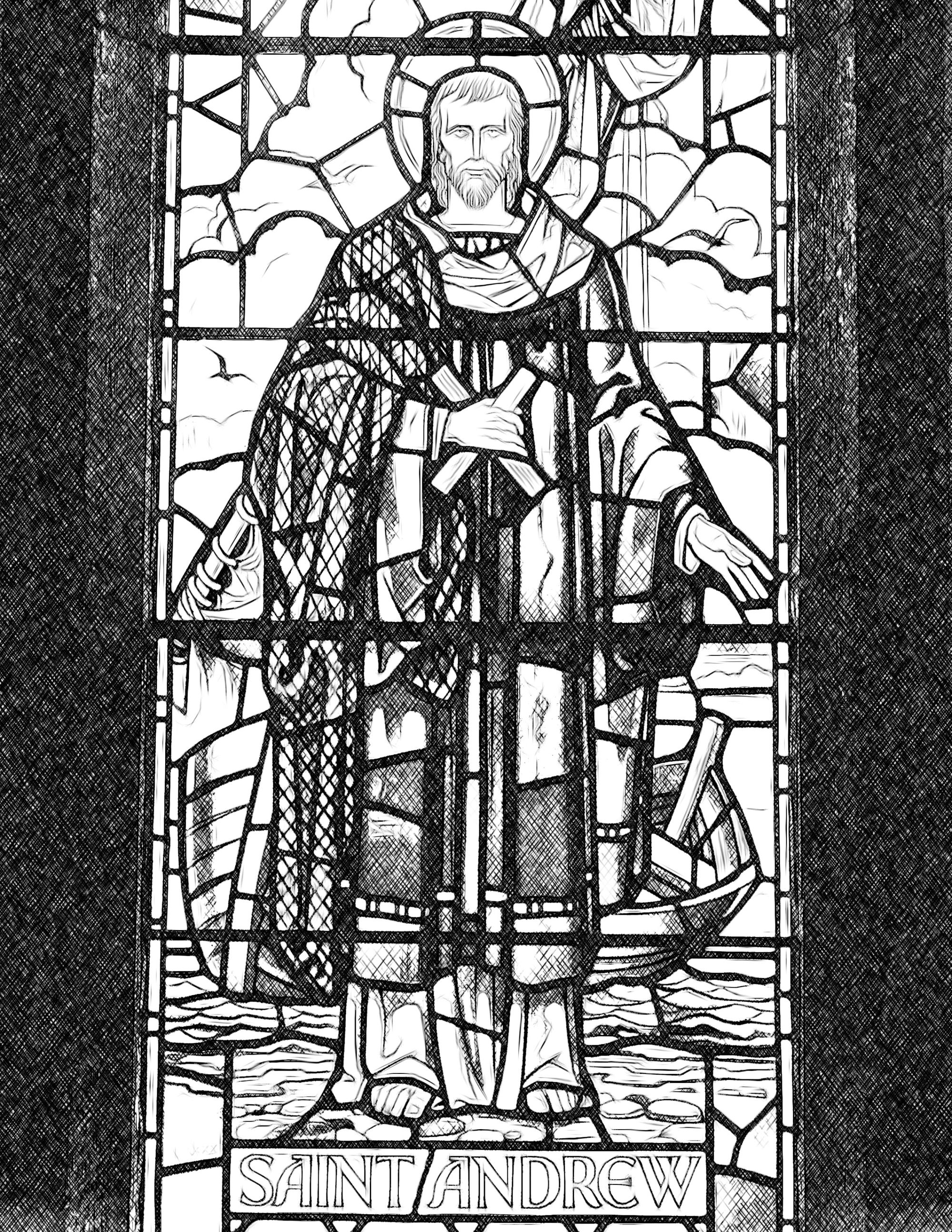saint-andrew-catholic-coloring-page-from-sdcason-dot-com