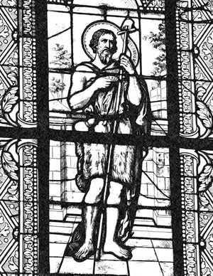 John the Baptist - Catholic Coloring Page