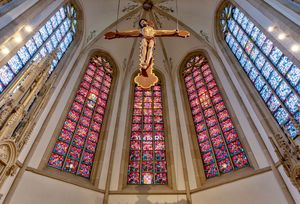 St Viktor Church, Germany - Catholic Stock Photo