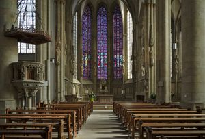 St Lambert's Church, Münster - Catholic Stock Photo