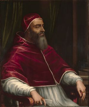 Pope Clement VII by Sebastiano del Piombo (1531) - Public Domain Catholic Painting