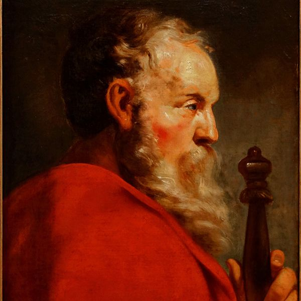 Saint Paul by Jacob Van Oost (17th Century) - Public Domain Catholic Painting