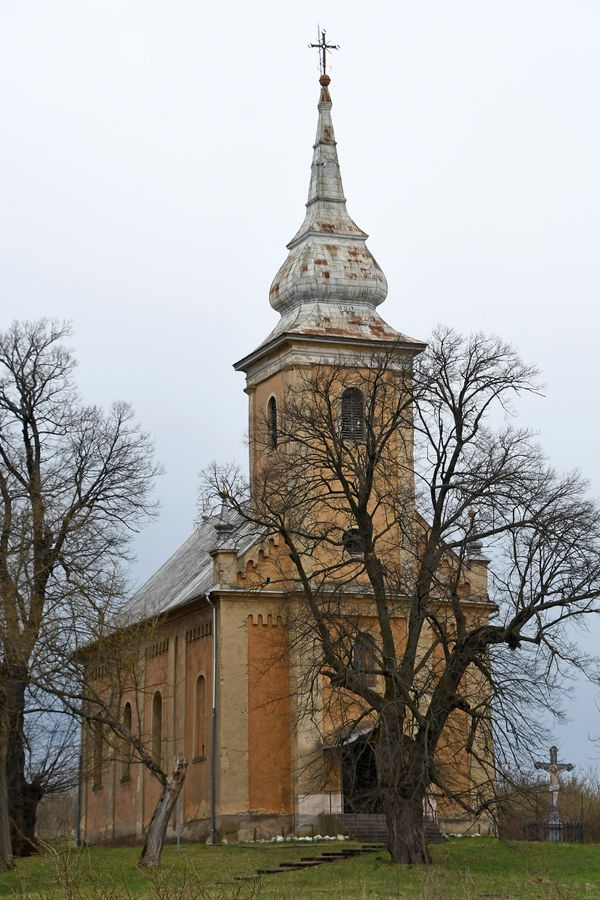 Greek Catholic Church, Hungary - Catholic Stock Photo