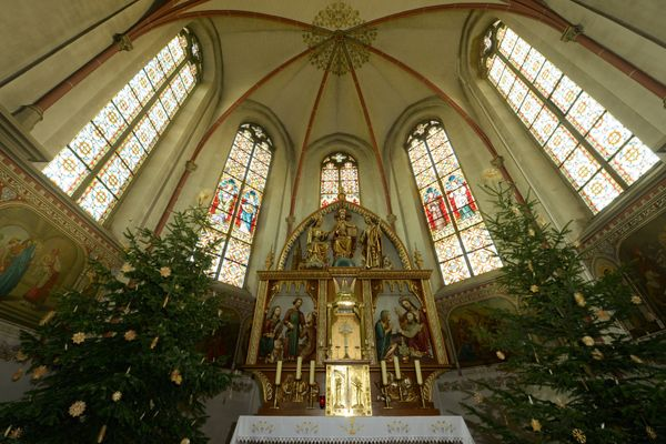 St. Josef Church, Saarland, Germany - Catholic Stock Photo