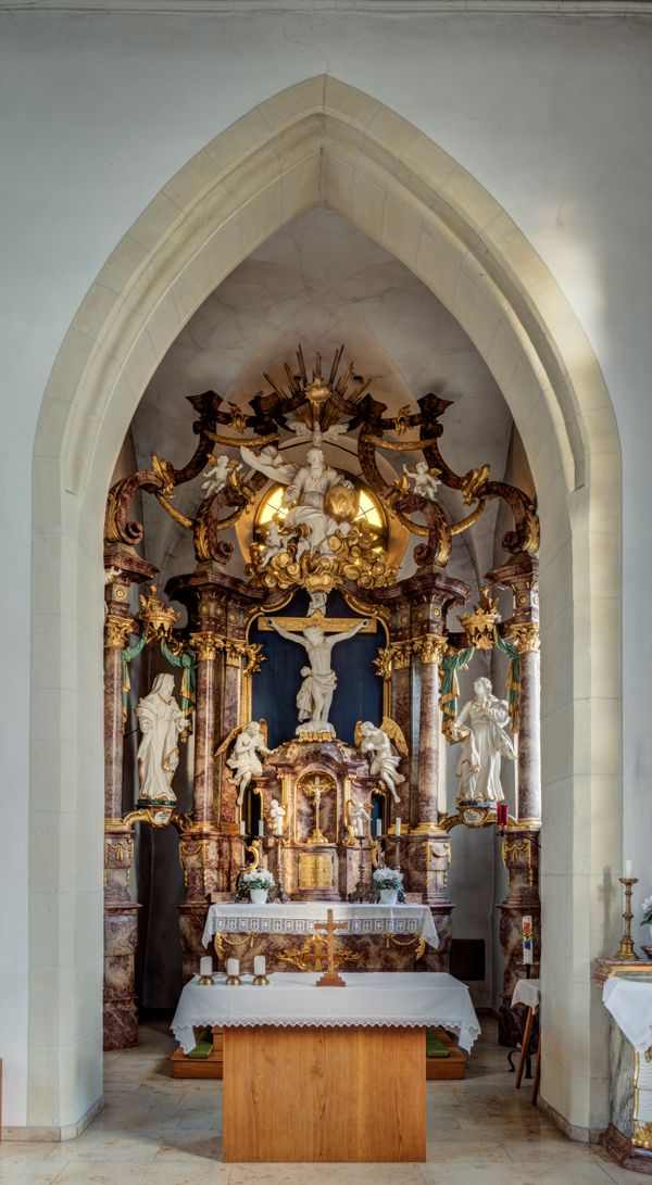 St. Jacobus Maior, Germany - Catholic Stock Photo